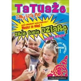 Tatuaże Zmywalne 50 mm - 200 szt