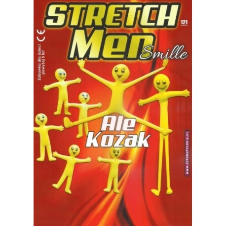 Stretch man smile 50